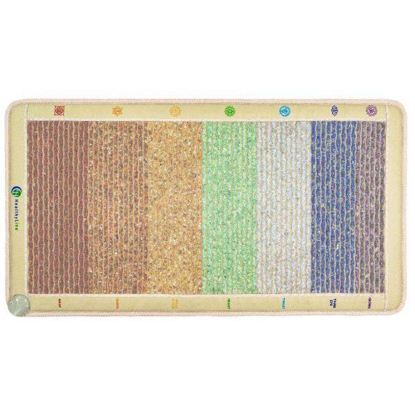 Amethyst-Sodalite-Blue-Lace-Agate-Green-Aventurine-Yellow-Aventurine-Carnelian-Red-Jasper-Rainbow-Chakras-Mat-Medium-5228-Firm-PEMF-InframatP (1)