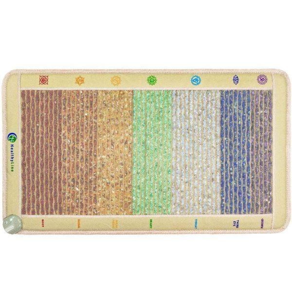 Amethyst-Sodalite-Blue-Lace-Agate-Green-Aventurine-Yellow-Aventurine-Carnelian-Red-Jasper-Rainbow-Chakras-Mat-Small-4224-Firm-PEMF-InframatPro (2)